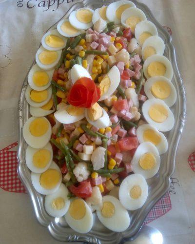 une des idées de salades possible