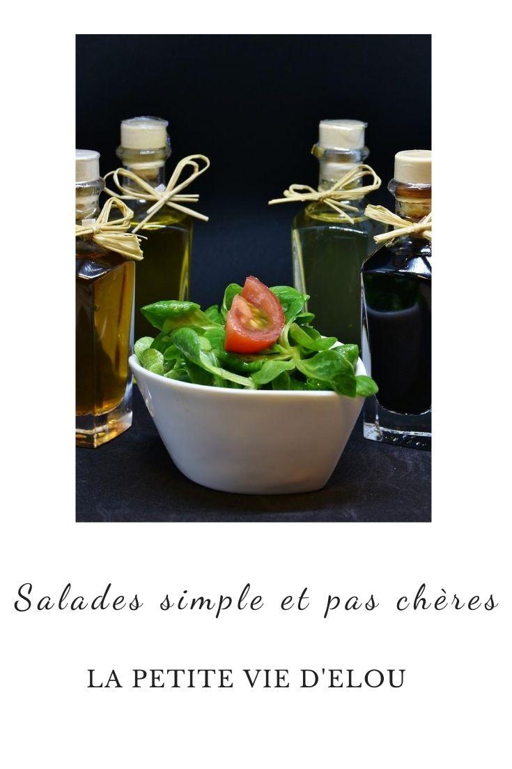salades pas chères