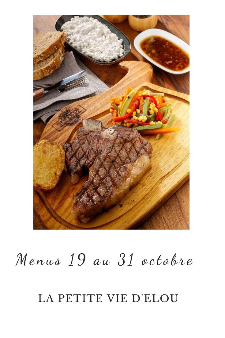 menus quinzaine