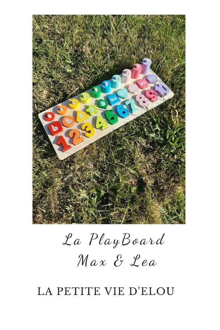 max & lea playboard